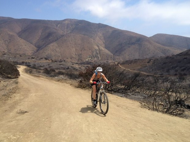 A nice ride in Sycamore Canyon after the Camarillo Springs fire.