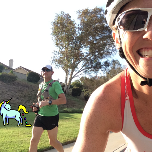 I passed this total hotty when I started my ride. We totally missed the Unicorn!