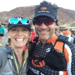 "I found one of my ""Cactus Buddies"" from Ironman Arizona"