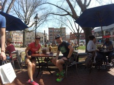Harvard Square for lunch